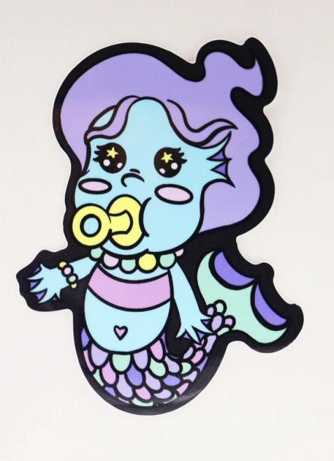 Baby Monster Sticker: Merfolk