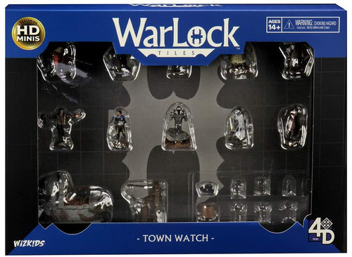 RPG Miniatures: Townsfolk and Animals - Warlock Tiles: Accessory - Town Watch