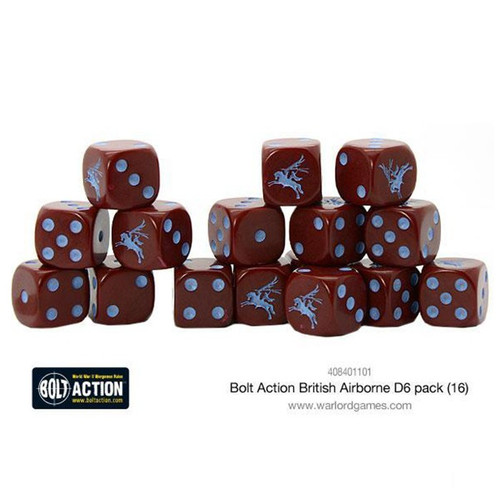 Bolt Action: British Airborne D6 Pack (16)