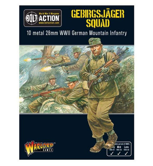 Bolt Action: Gebirgsjager Squad