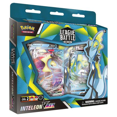 Pokemon TCG: Decks and Starters - Inteleon VMAX League Battle Deck