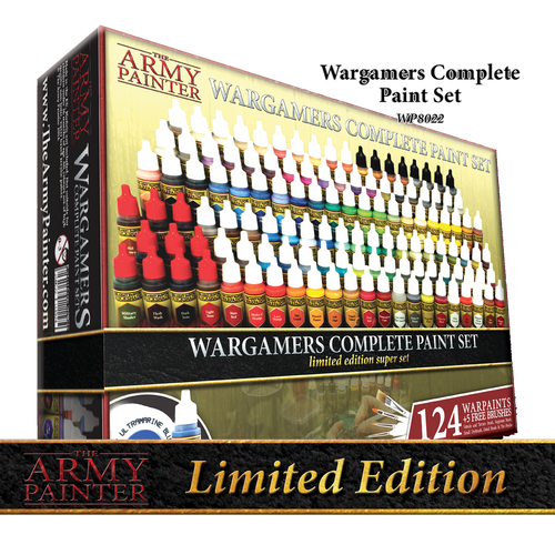 Paint: Army Painter - Paint Sets Warpaints: Wargamers Complete Paint Set 2017 (Limited Edition)