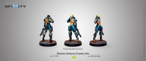 Infinity: Yu Jing - Daoying Operative Control Unit (Hacker)