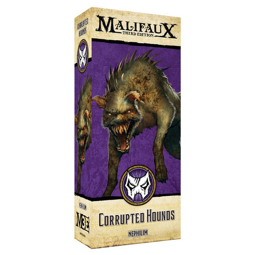 Malifaux: Neverborn - Corrupted Hounds