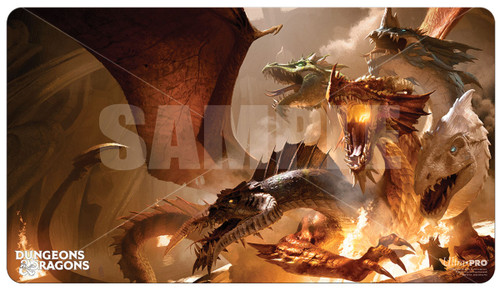 Playmats: Other Printed Playmats - The Rise of Tiamat D&D Playmat