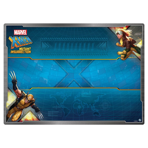 Playmats: Other Printed Playmats - X-Men: Mutant Insurrection Game Mat