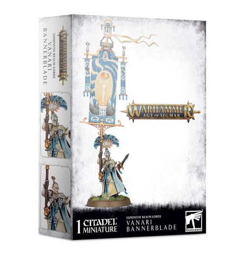 Warhammer: Age of Sigmar: Grand Alliance: Order - Lumineth Realm-Lords Vanari Bannerblade