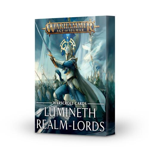 Warhammer: Age of Sigmar: Grand Alliance: Order - Lumineth Realm-Lords Lumineth Warscroll Cards (v.2)