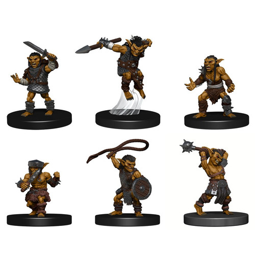 RPG Miniatures: Icons of the Realms - D&D Minis: Goblin Warband