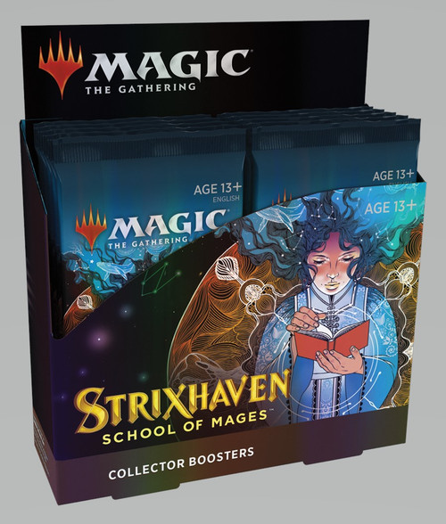 (Preorder) Magic The Gathering Sealed: Strixhaven: School of Mages - STX Collector Booster Box (12)