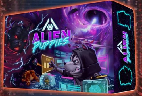 Card Games: Alien Puppies Cyberpunk Edition