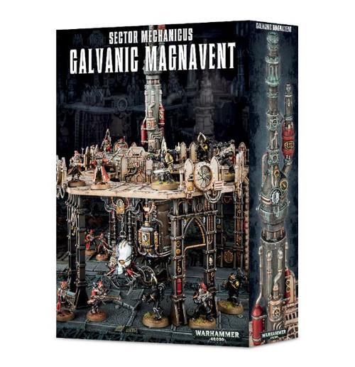 Warhammer 40K: Terrain / Scenery - Sector Mechanicus: Galvanic Magnavent