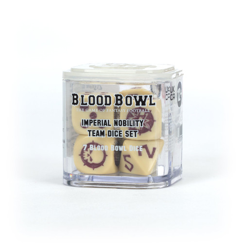 Dice and Gaming Accessories Blood Bowl: Imperial Nobility Team Dice