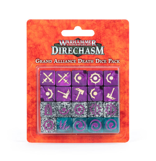 Warhammer Underworlds: Grand Alliance Death Dice Pack