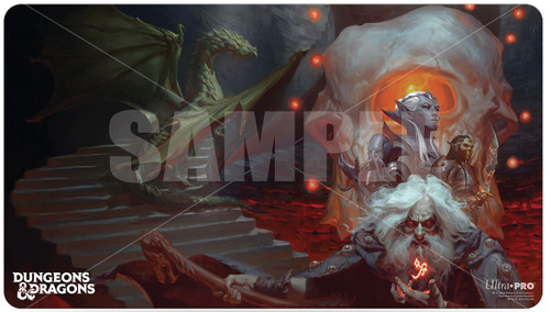 Playmats: Other Printed Playmats - Waterdeep Dungeon of the Mad Mage D&D Playmat
