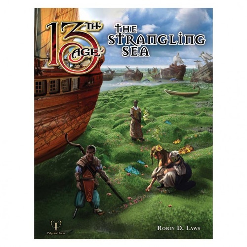 Miscellanous RPGs: 13th Age RPG: The Strangling Sea