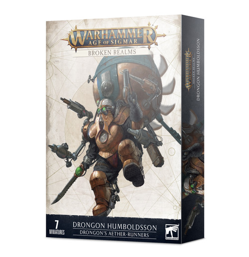 (Preorder) Warhammer: Age of Sigmar: Grand Alliance: Order - Broken Realms: Drongon's Aether-Runners