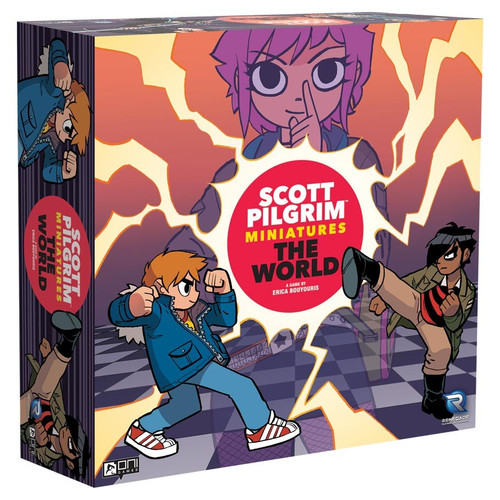 Board Games: Scott Pilgrim Miniatures The World: Core Game - Painted Edition
