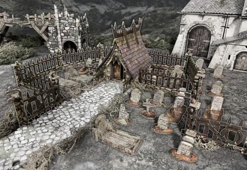 Terrain/Scenery: Battle Systems: Graveyard