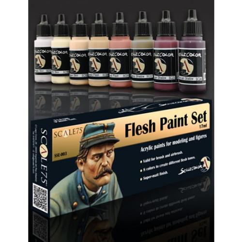 Paint: Scale75 - Flesh Paint Set