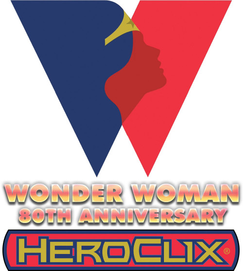 HeroClix: DC Wonder Woman 80th Anniversary Dice And Token Pack