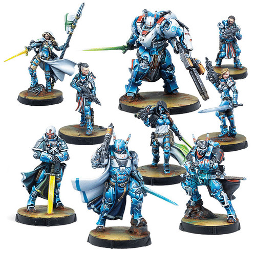 Infinity: PanOceania - PanO Military Orders Action Pack