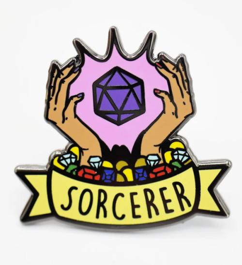 Pins: Banner Class Pin: Sorcerer