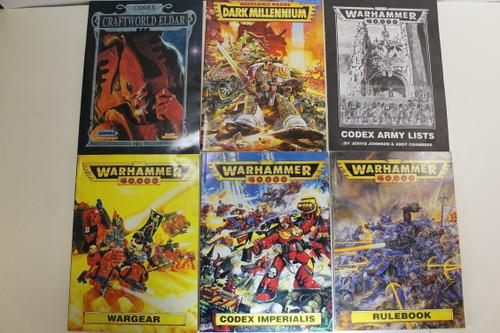 Warhammer 40k 2nd Edition Book Lot [U-B3S5 282461]