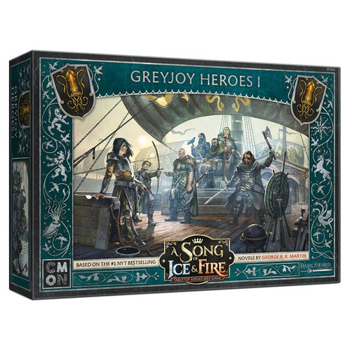 A Song of Ice & Fire Tabletop Miniatures Game: House Greyjoy - Greyjoy Heroes #1