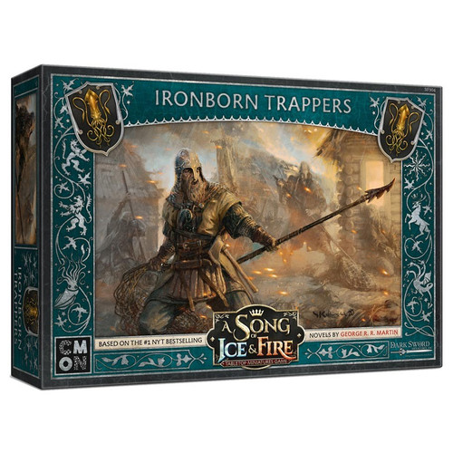 A Song of Ice & Fire Tabletop Miniatures Game: House Greyjoy - Ironborn Trappers