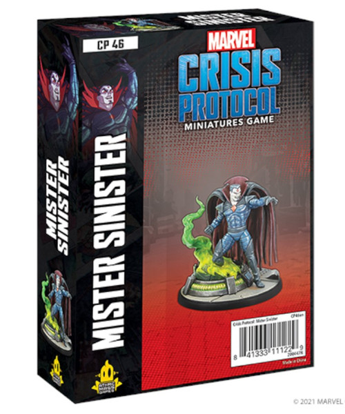 Marvel: Crisis Protocol: Mister Sinister Character Pack