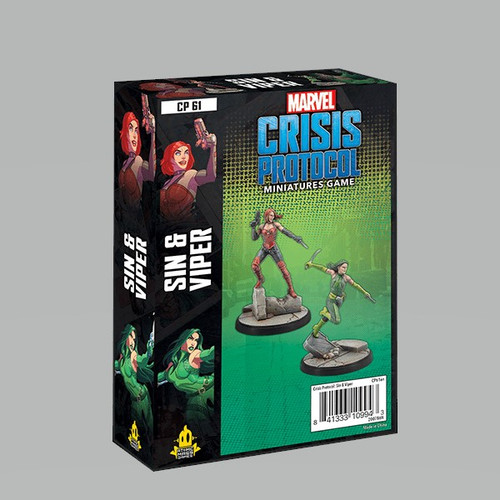 Marvel: Crisis Protocol: Sin And Viper Character Pack
