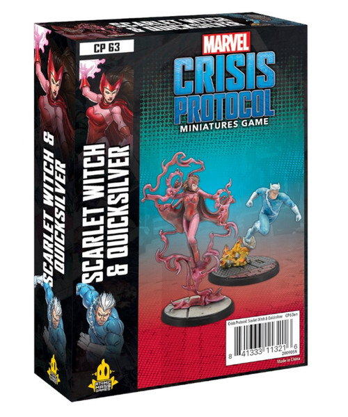 Marvel: Crisis Protocol: Scarlet Witch And Quicksilver Character Pack