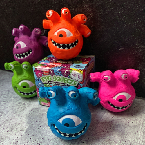 Blind Box: RPG Squeeze Series 1 - Eyegor Edition