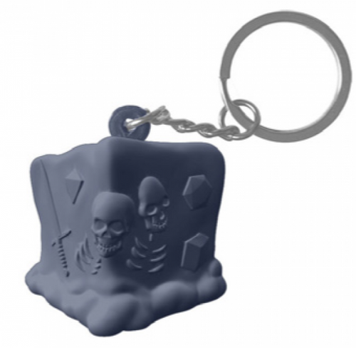 Stuffed Toys: RPG Squeeze Keychains - Legendary Black Ooze (slow-rise foam)