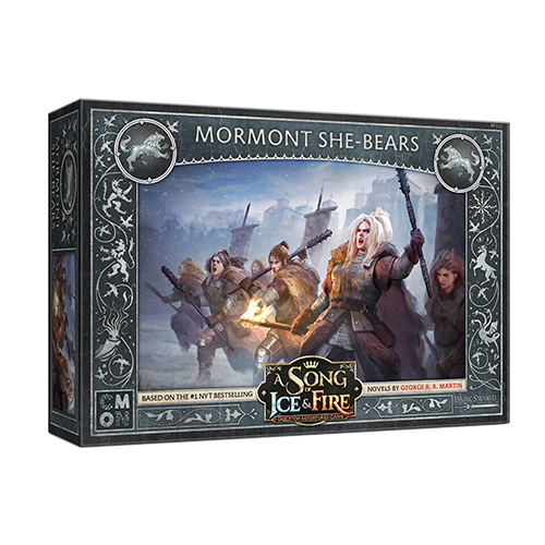 A Song of Ice & Fire Tabletop Miniatures Game: House Stark - Mormont She-Bears
