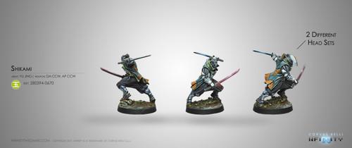 Infinity: Yu Jing - Shikami - Combi Rifle