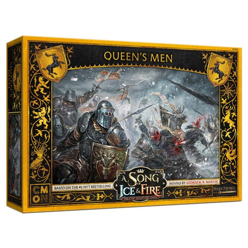 A Song of Ice & Fire Tabletop Miniatures Game: House Baratheon - Queen's Men