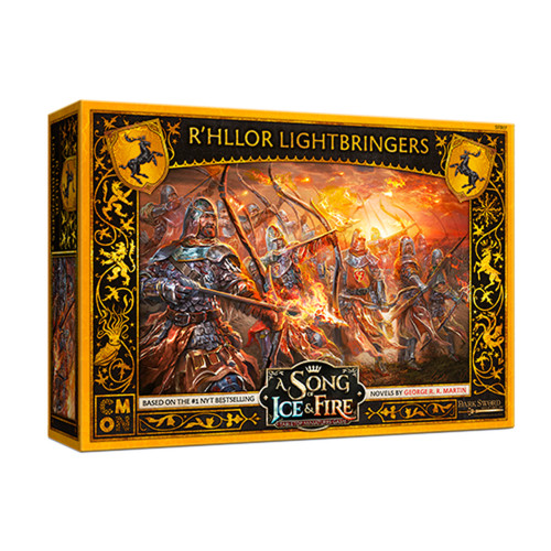 A Song of Ice & Fire Tabletop Miniatures Game: House Baratheon - R'hllor Lightbringers
