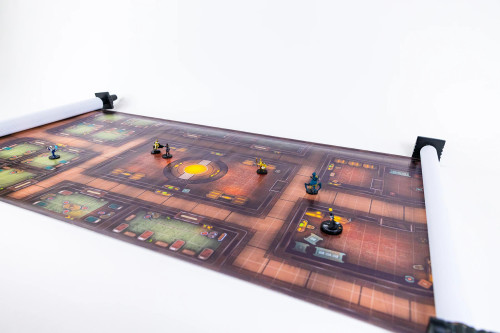 General Playmats and Tiles: Infinidungeon: Space Freighter