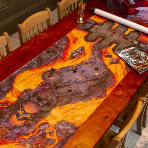 General Playmats and Tiles: Infinidungeon: The Mad Descent