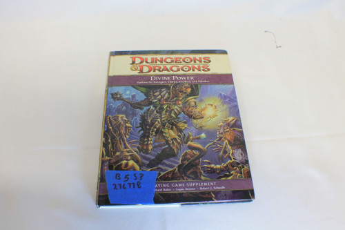 Dungeons and Dragons: Divine Power 4th Edition [U-B5S3 276778]