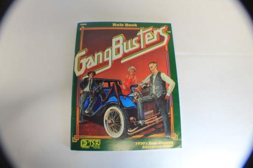 Gang Busters #7009 Rulebook (1982) OOP [U-B8S3 276586]