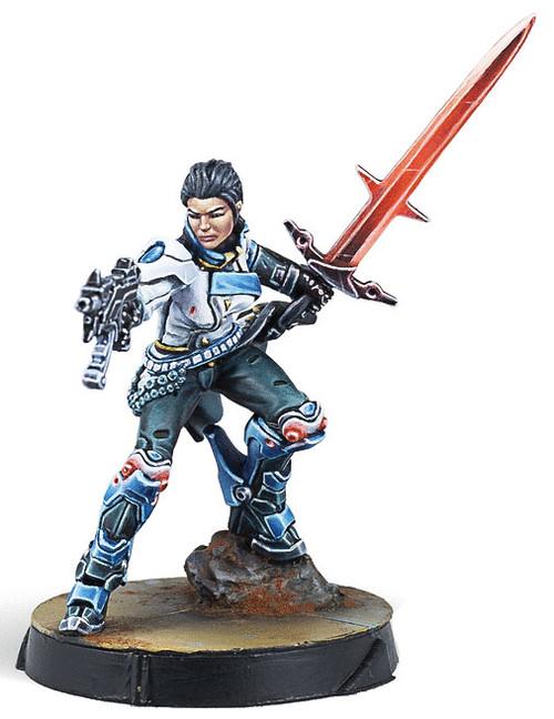 Infinity: O-12 - Shona Carano, Aristeia! Swordmaster (Submachine Gun)