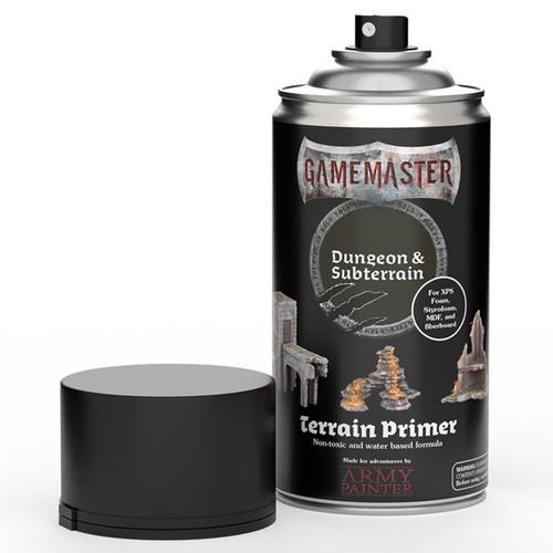 Spray Primers and Varnish: Army Painter - Gamemaster: Terrain Primer - Dungeon & Subterrain