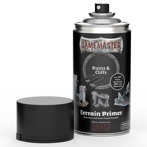 Spray Primers and Varnish: Gamemaster: Terrain Primer - Ruins & Cliffs