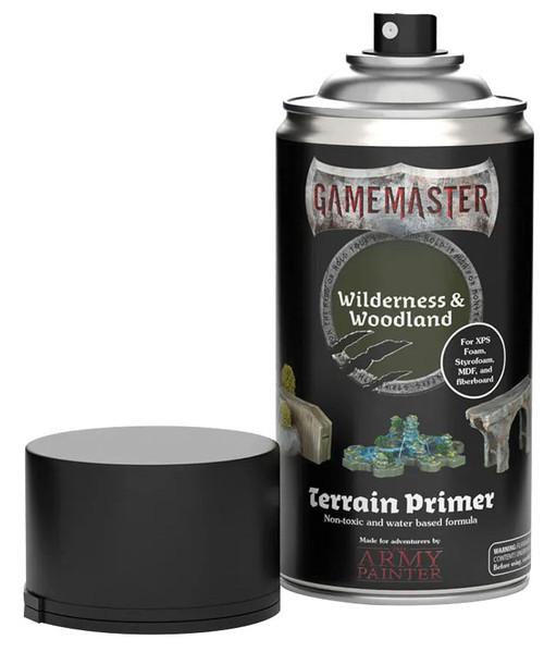 Spray Primers and Varnish: Gamemaster: Terrain Primer - Wilderness & Woodland