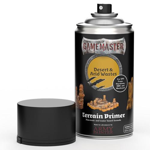 Spray Primers and Varnish: Gamemaster: Terrain Primer - Desert & Arid Wastes