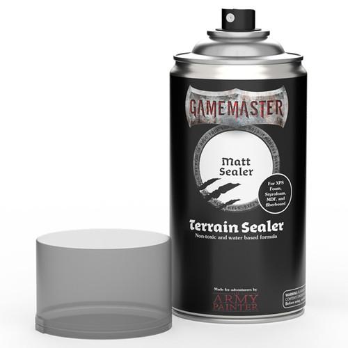 Spray Primers and Varnish: Gamemaster: Terrain Primer - Matte Sealer