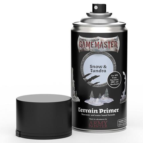 Spray Primers and Varnish: Gamemaster: Terrain Primer - Snow & Tundra